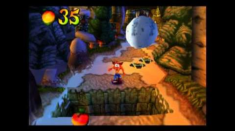 Crash Crush - Clear Gem - Crash Bandicoot 2 Cortex Strikes Back - 100% Playthrough (Part