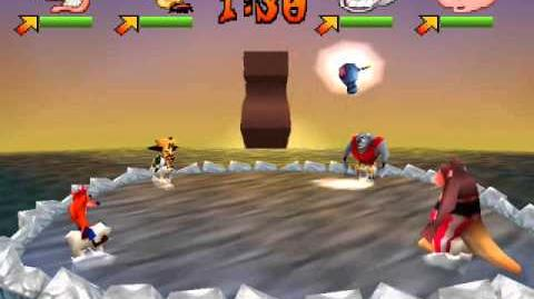 Crash Bash - 5 - Polar Panic - Gem Challenge Crystal Challenge