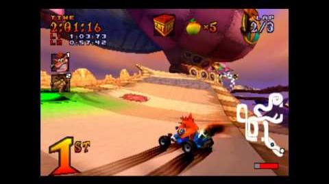 Pinstripe's Challenge - Boss 4 - Crash Team Racing - 101% Playthrough (Part 20)-0