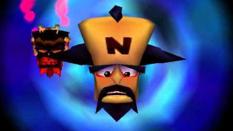 Crash Bandicoot 3 Timetwister Message - Dr. N