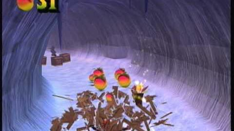 Crash Bandicoot The Wrath of Cortex 106% PLAYTHROUGH Part 36 Arctic Antics Box Gem