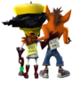 Crash Twinsanity Crash Bandicoot Doctor Neo Cortex