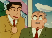 Teacher Yamaoka and principal
