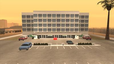 Las Venturas Hospital (Las Venturas Airport)