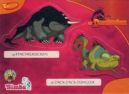 Dragonhunte6bollsticker