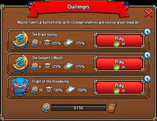 ChallengesBoard