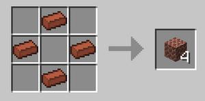 Diagonal brick recipe