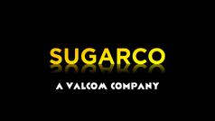 SUGARCO Logo with Valcom Byline