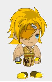 Sacred Doll Golden