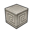 Wall Roman Limestone Maze