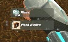 Creativerse unlock R22 Glass Wood Window030