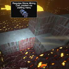 Creativerse Tourmaline Stone Mining Cells R36
