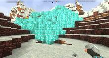 Creativerse Frozen desert ice falls100