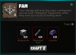 Creativerse crafting recipes R34 Machines 0097