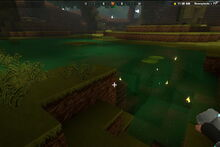Creativerse cave swamplands bog water001