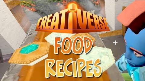 Recipes For Food For Creativerse