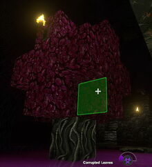 Creativerse Corrupted Leaves on tree18918
