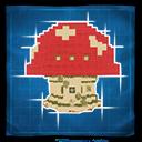Mushroom House Game Icon