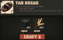 Tar bread make