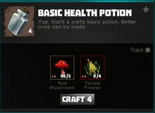 Creativerse crafting recipes R34 Potions 0036
