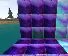 Creativerse building block Dark Lumite Wall R23 01