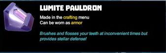 Creativerse tooltip armor lumite 2017-06-03 21-06-09-86