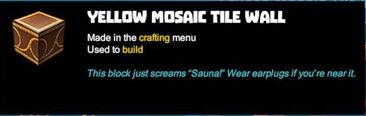 Creativerse tooltips R40 101 Stucco Mosaic Tile Walls