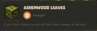 Creativerse Ashenwood Leaves881