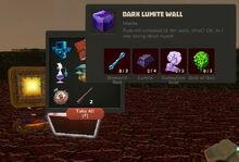 Creativerse Dark Lumite Wall Iron Treasure Chest842