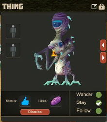 Creativerse Thing has been fed84