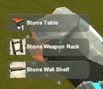Creativerse unlock R23 Stone Table Rack Shelf0110