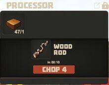 Creativerse Wood Rod Wood Slab00452