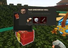Creativerse Tiled Gingerbread Wall09