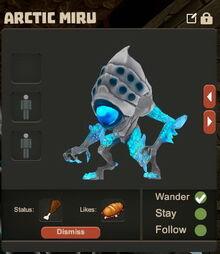 Creativerse Arctic Miru pet8383