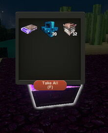 Creativerse diamond treasure chest R26 79