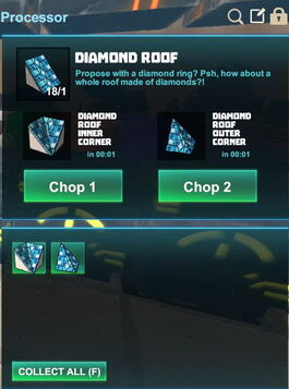 Creativerse R41,5 processing corners for roofs 519
