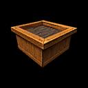 Planter Wood Single