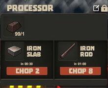 Creativerse Iron ore to slab and rod01