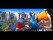 Tram scene Rio movie