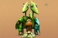 Pteranodon Family 2