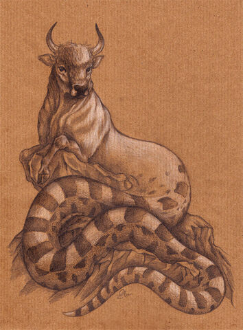 File:Ophiotaurus by MO-ffie.jpg