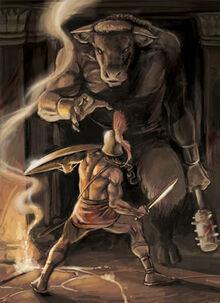 Myth-Theseus and the Minotaur