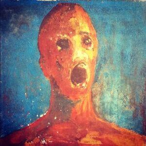 Anguished man