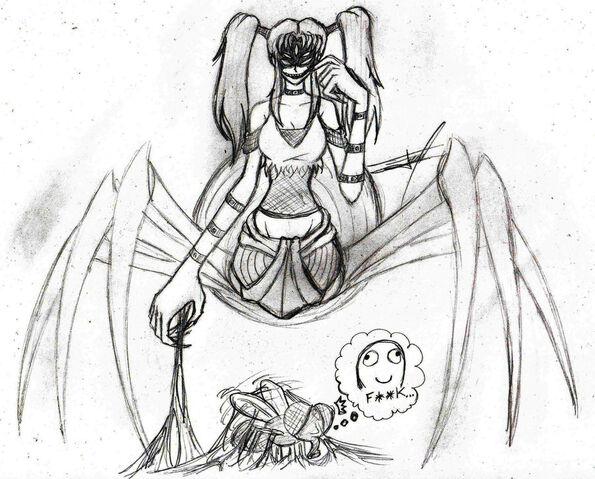 File:Monster girl challenge spider girl by ferchozaki-d5776jy.jpg