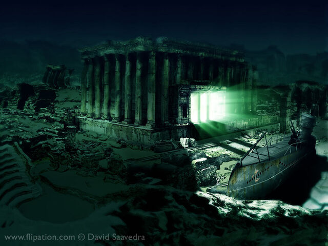 File:H P Lovecraft s The Temple by flipation.jpg