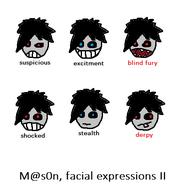 Mason facial expressions 2
