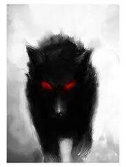 Lonewolf wolf form