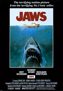 220px-JAWS Movie poster