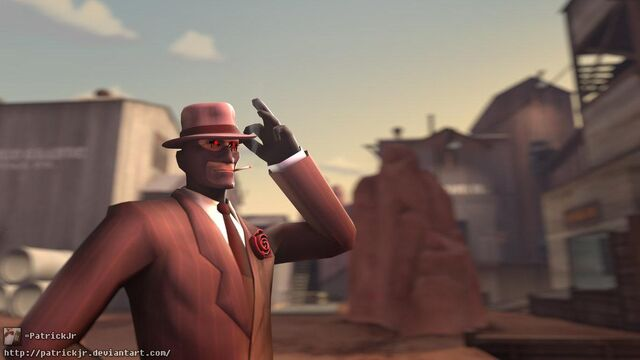 File:Sfm poster fancy spy red by patrickjr-d5cpgyu.jpg