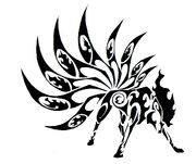 Tribal Tattoo Ninetales